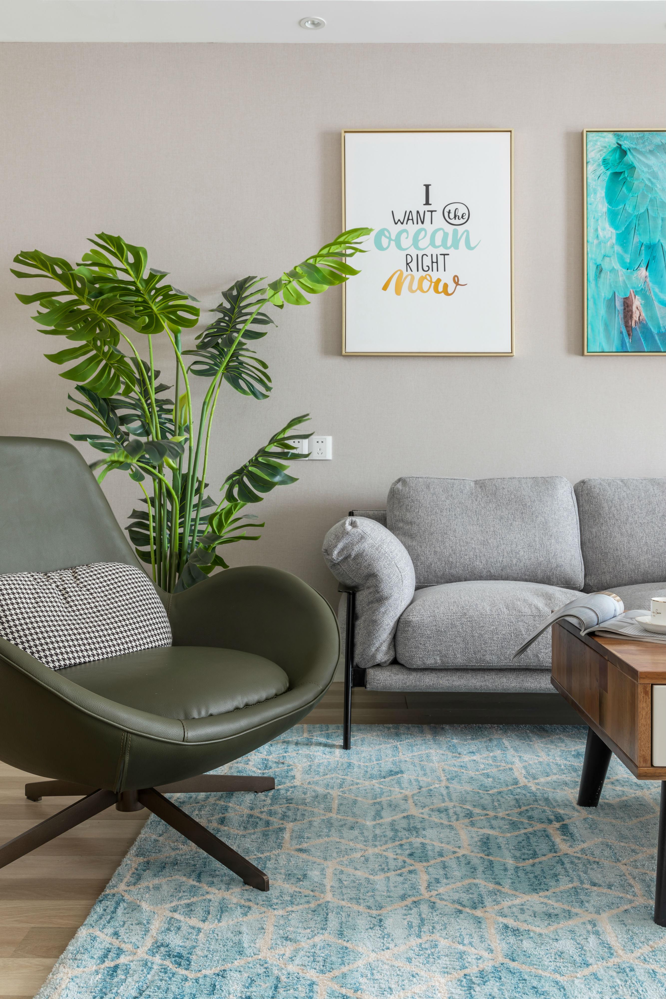 质朴96平欧式三居客厅装修美图客厅1图欧式豪华客厅设计图片赏析