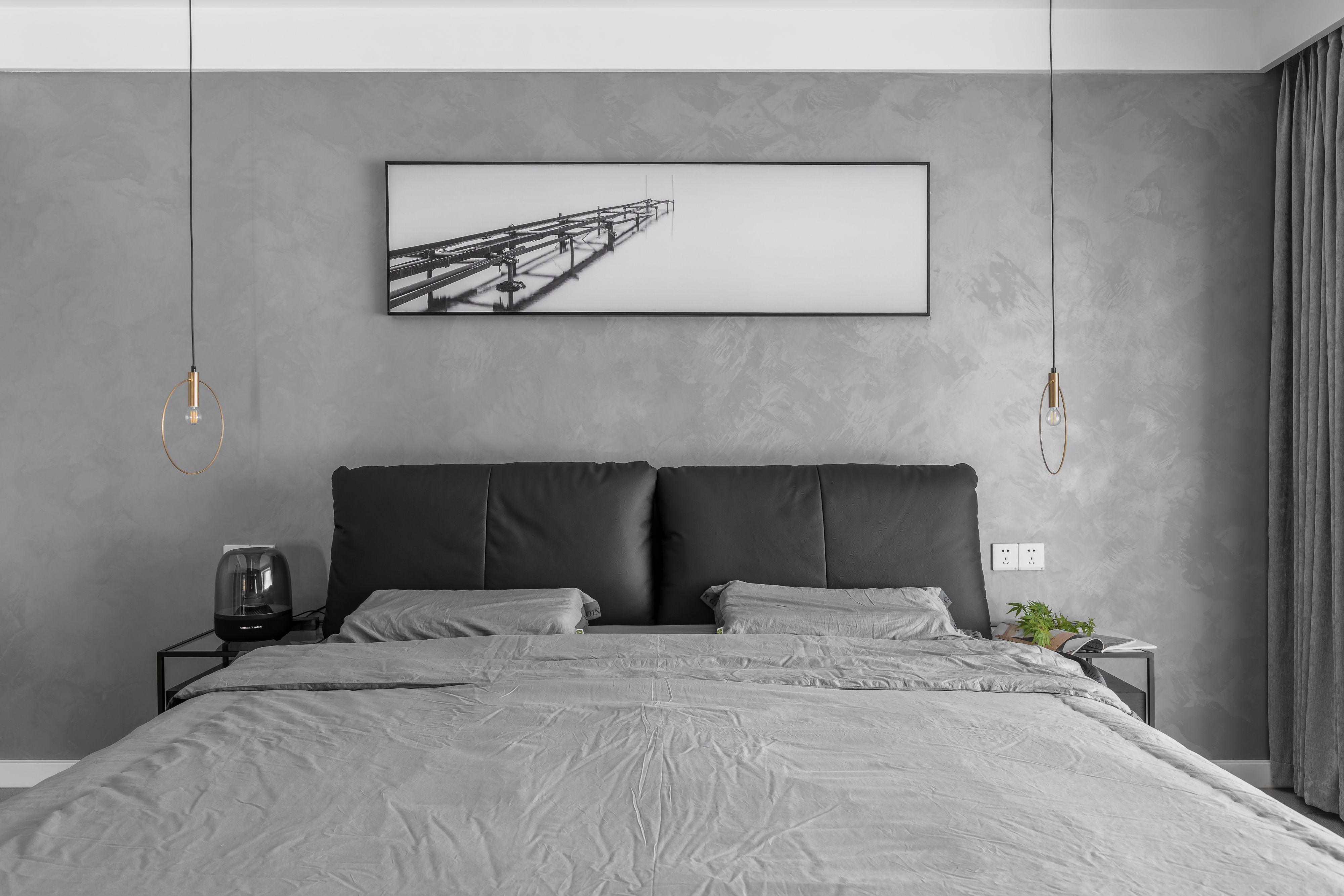 平混搭四居卧室装潢图卧室