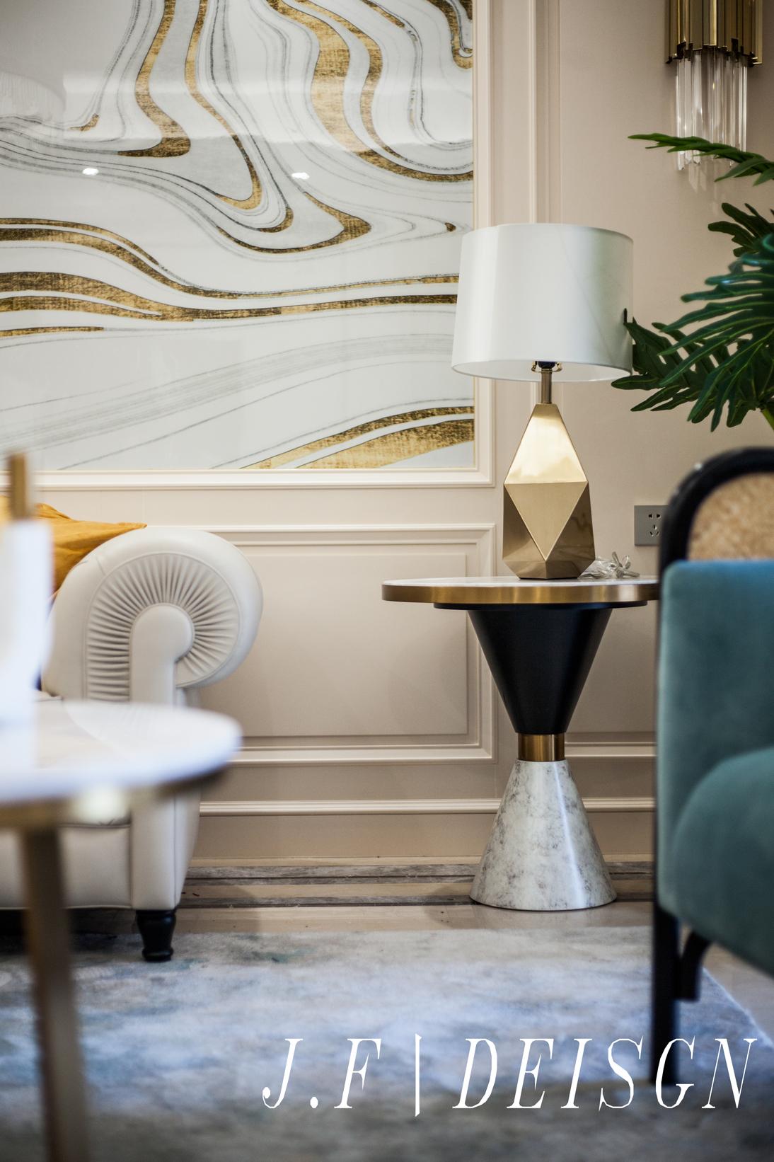 精致97平简欧三居客厅装修装饰图客厅