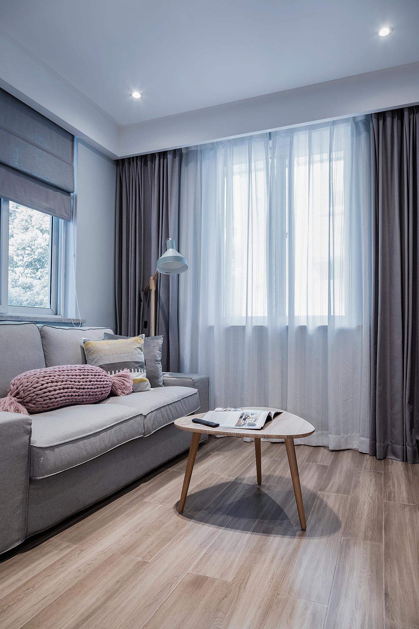 优美39平简约小户型客厅设计图客厅