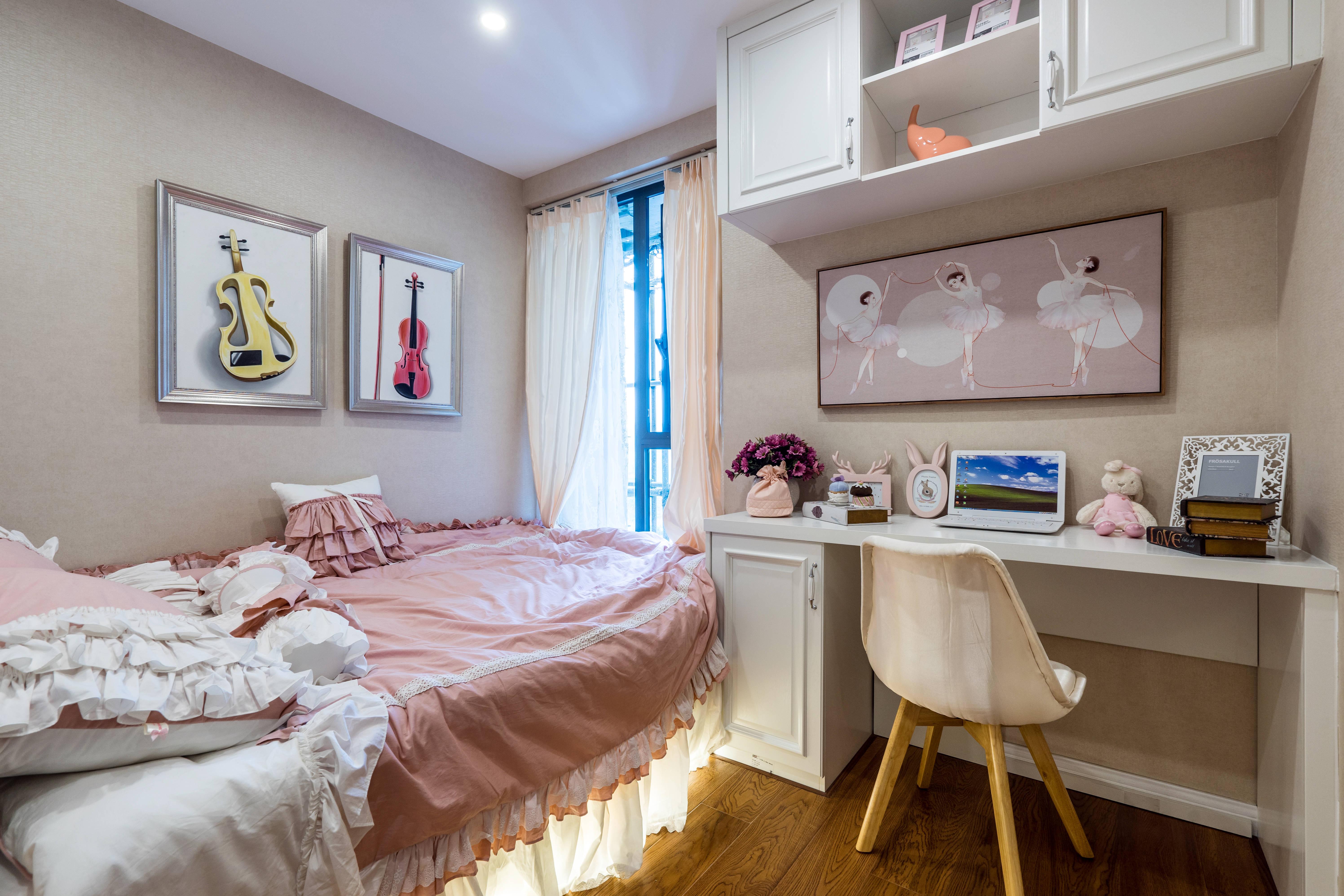 悠雅77平新古典三居卧室装饰美图卧室1图美式经典卧室设计图片赏析
