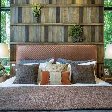 后现代风格的三居室餐厅大卧室设计