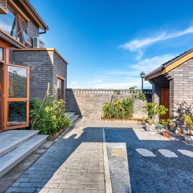 原木明净的北欧风格花园亚博娱乐平台下载 8图