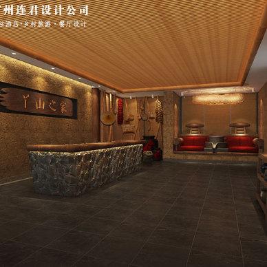 江西丫山风景区展厅设计方案,旅游区展厅设计效果_3379594