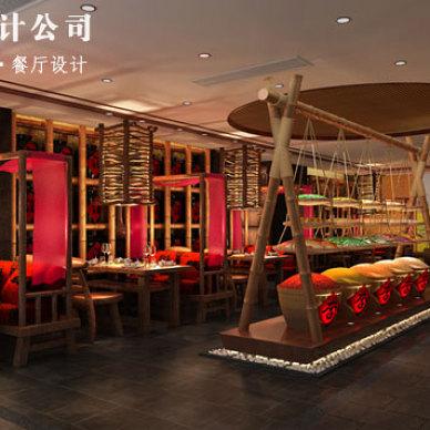 江西丫山风景区展厅设计方案,旅游区展厅设计效果_3379595