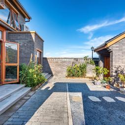原木舒适的北欧风格花园设计图