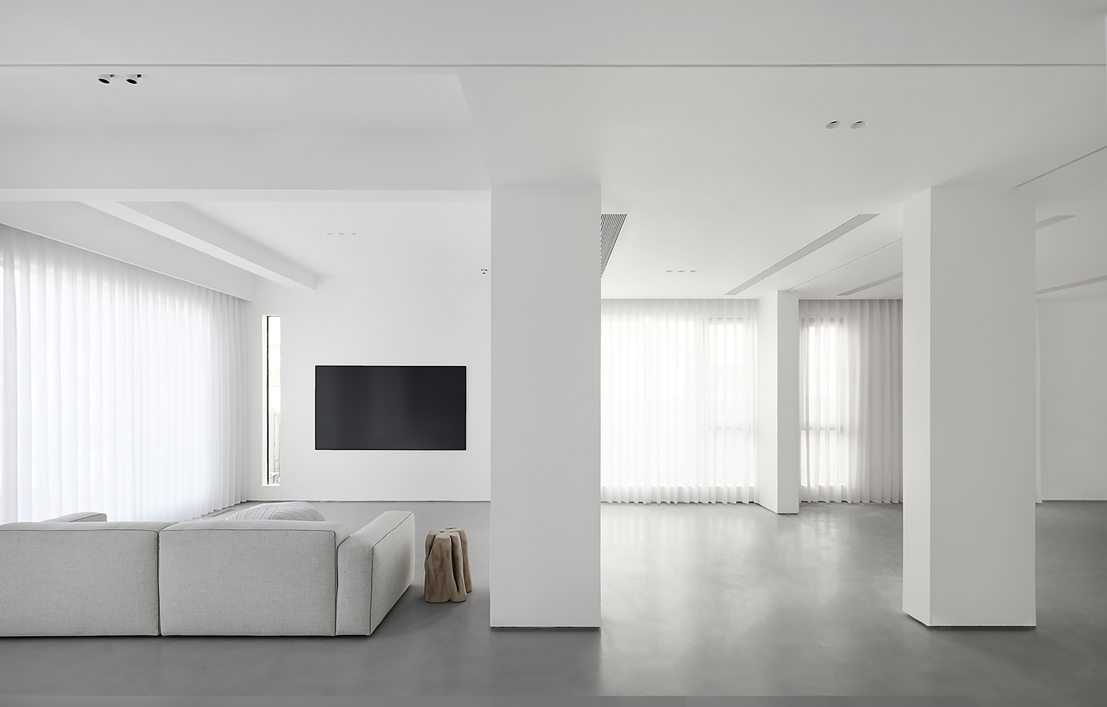 大气345平简约别墅客厅设计案例客厅现代简约客厅设计图片赏析
