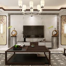 榆林市高新小区新中式设计方案_3382241