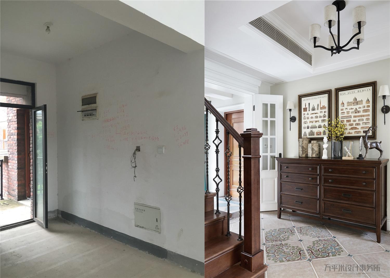 悠雅608平美式别墅玄关装饰图片玄关美式经典玄关设计图片赏析