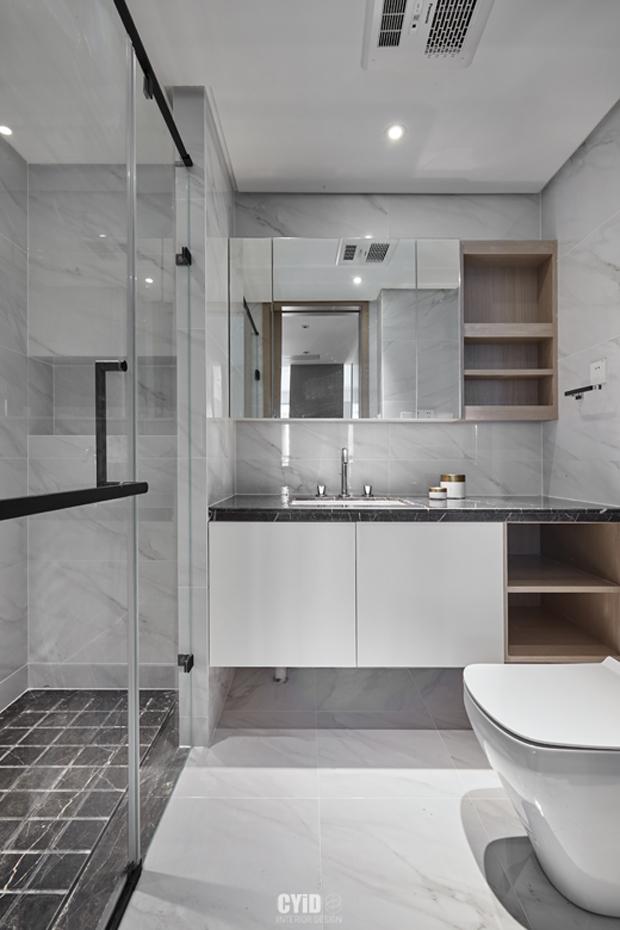 质朴82平现代三居卫生间装修图卫生间