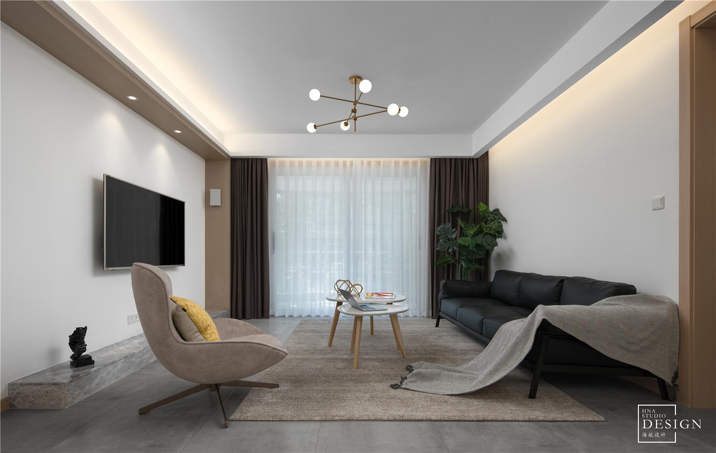 老房改造|15年老房变新记客厅北欧极简客厅设计图片赏析