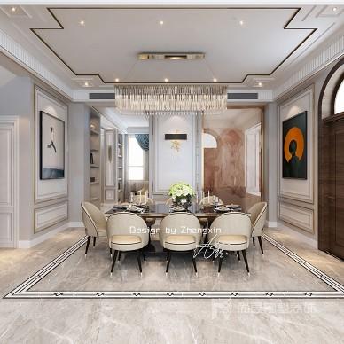 现代美式轻奢风格别墅装修_美式简约风格装修案例_3394268