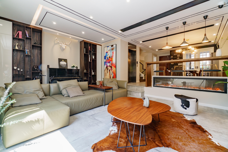 混搭客厅休闲功能区设计客厅