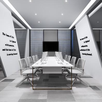 厦门·某科技有限公司办公室设计效果