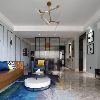 现代清新憧憬未来的幸福模样客厅设计