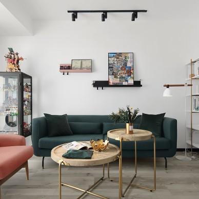 沉稳而低调的客厅设计
