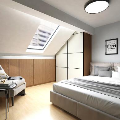 上海简约复式住宅_3399154