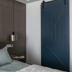 简约风格之绿地晶萃卧室设计图
