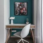 简约风格之绿地晶萃儿童房办公桌设计图