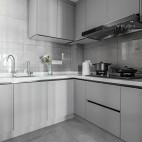 简约风格之绿地晶萃厨房设计图