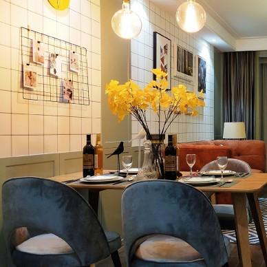 北欧风格之北纬38度 • 松果之家餐厅设计图