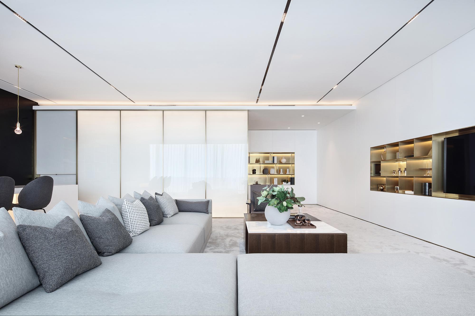 平现代别墅客厅装修装饰图客厅2图