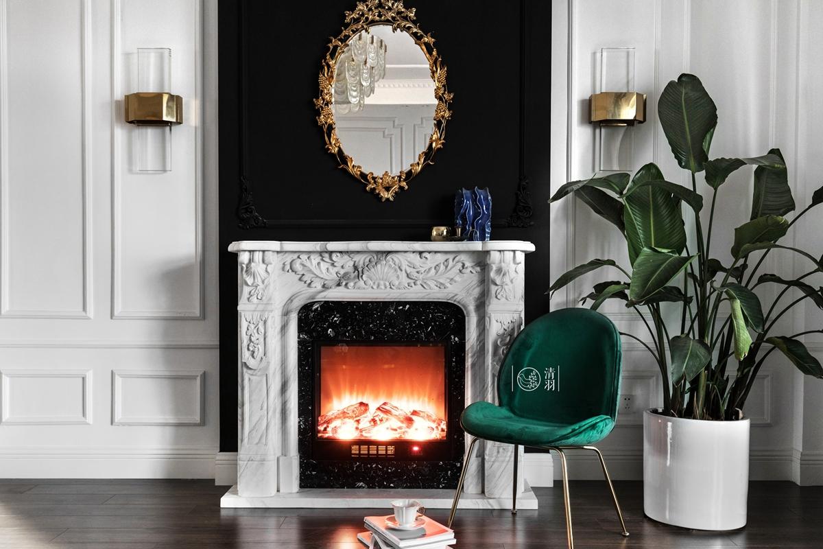 优美39平法式小户型客厅装修图客厅9图欧式豪华客厅设计图片赏析