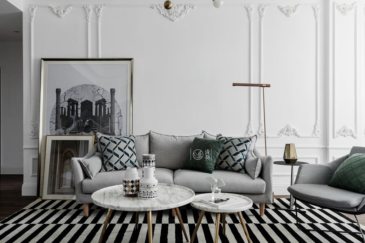平法式小户型客厅实景图客厅欧式豪华客厅设计图片赏析