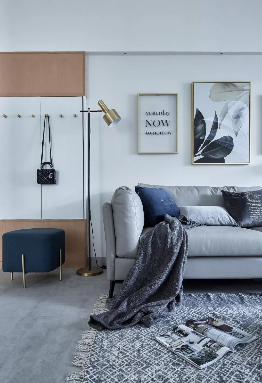 精致118平宜家三居设计案例客厅1图现代简约客厅设计图片赏析