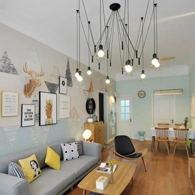 个性文艺的壁纸美了整个家!_3403279