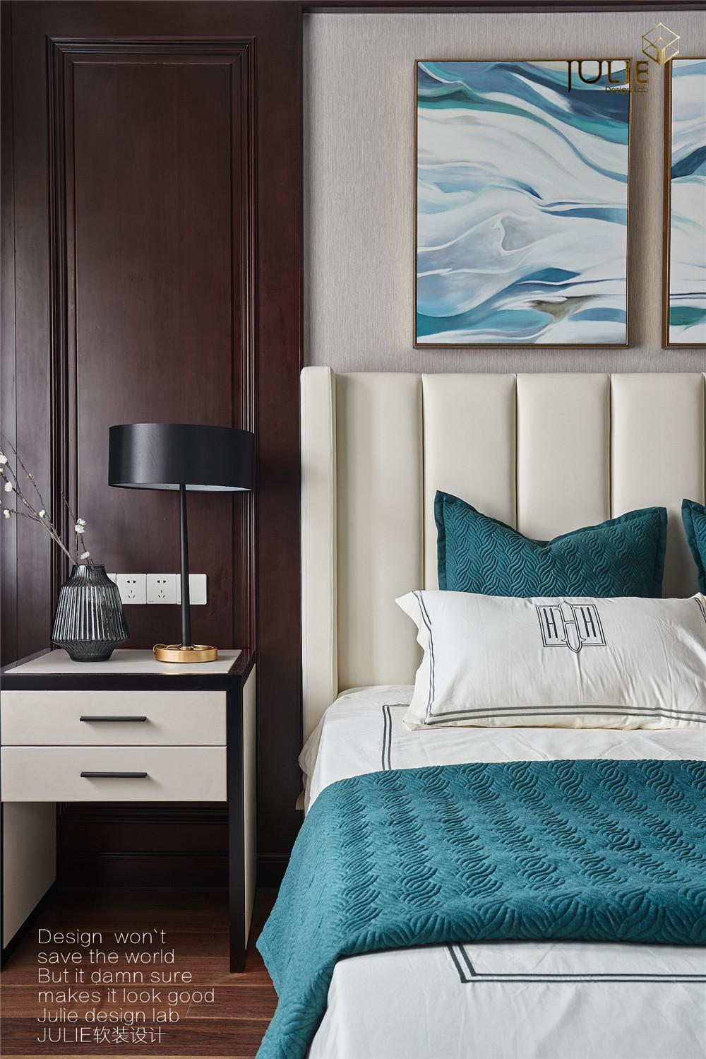 悠雅583平中式别墅卧室设计美图卧室2图中式现代卧室设计图片赏析