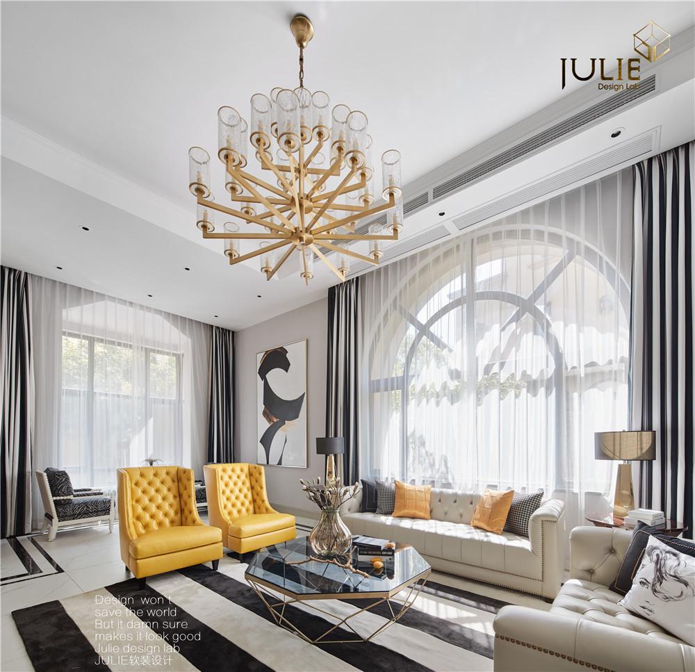 优美799平现代别墅客厅装修装饰图客厅
