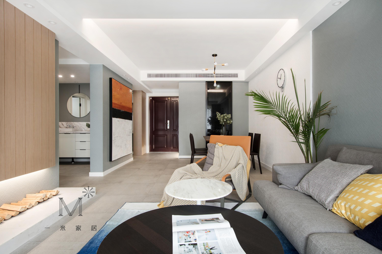 精美100平现代二居布置图客厅现代简约客厅设计图片赏析