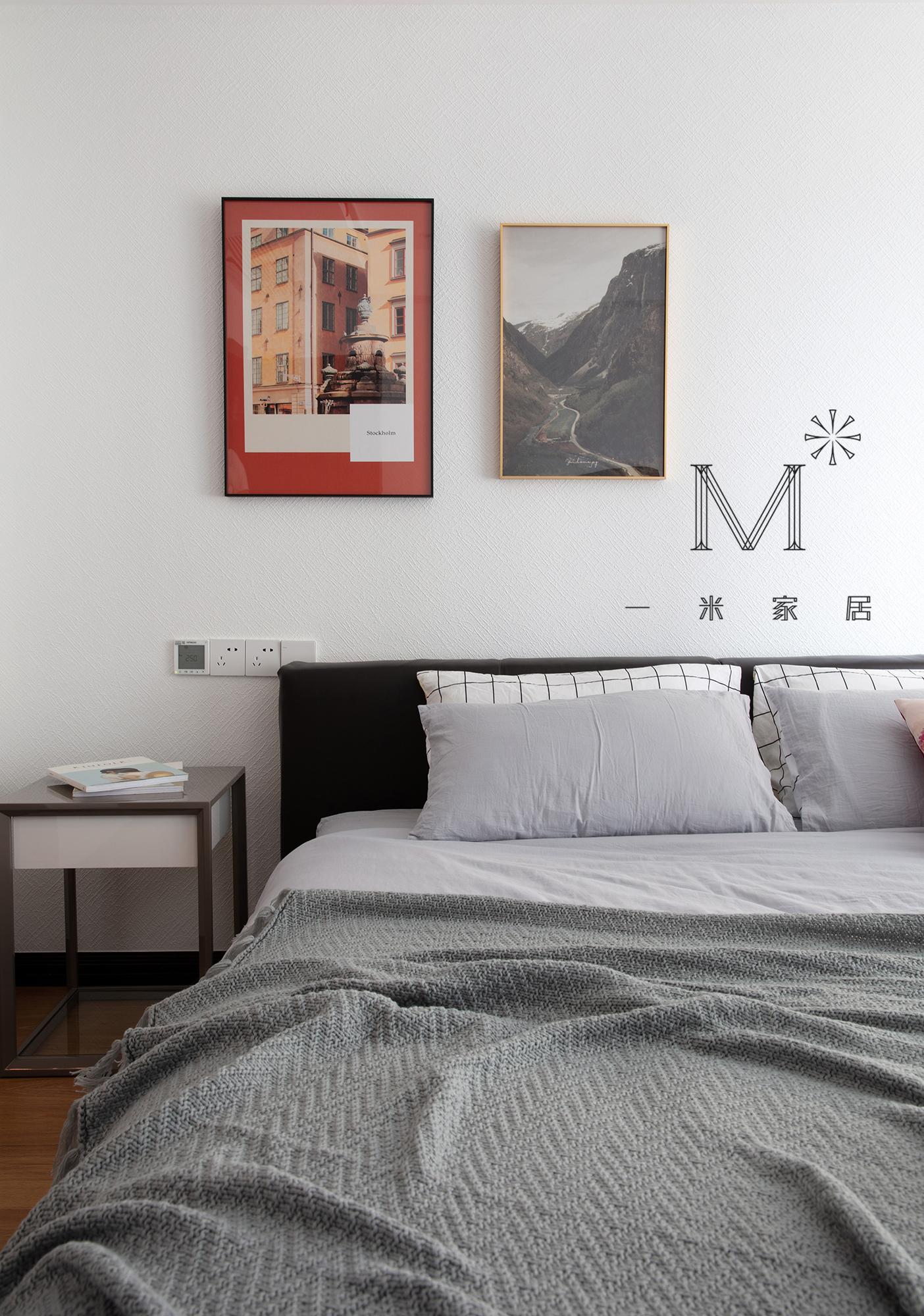 轻奢118平现代三居设计图卧室现代简约卧室设计图片赏析