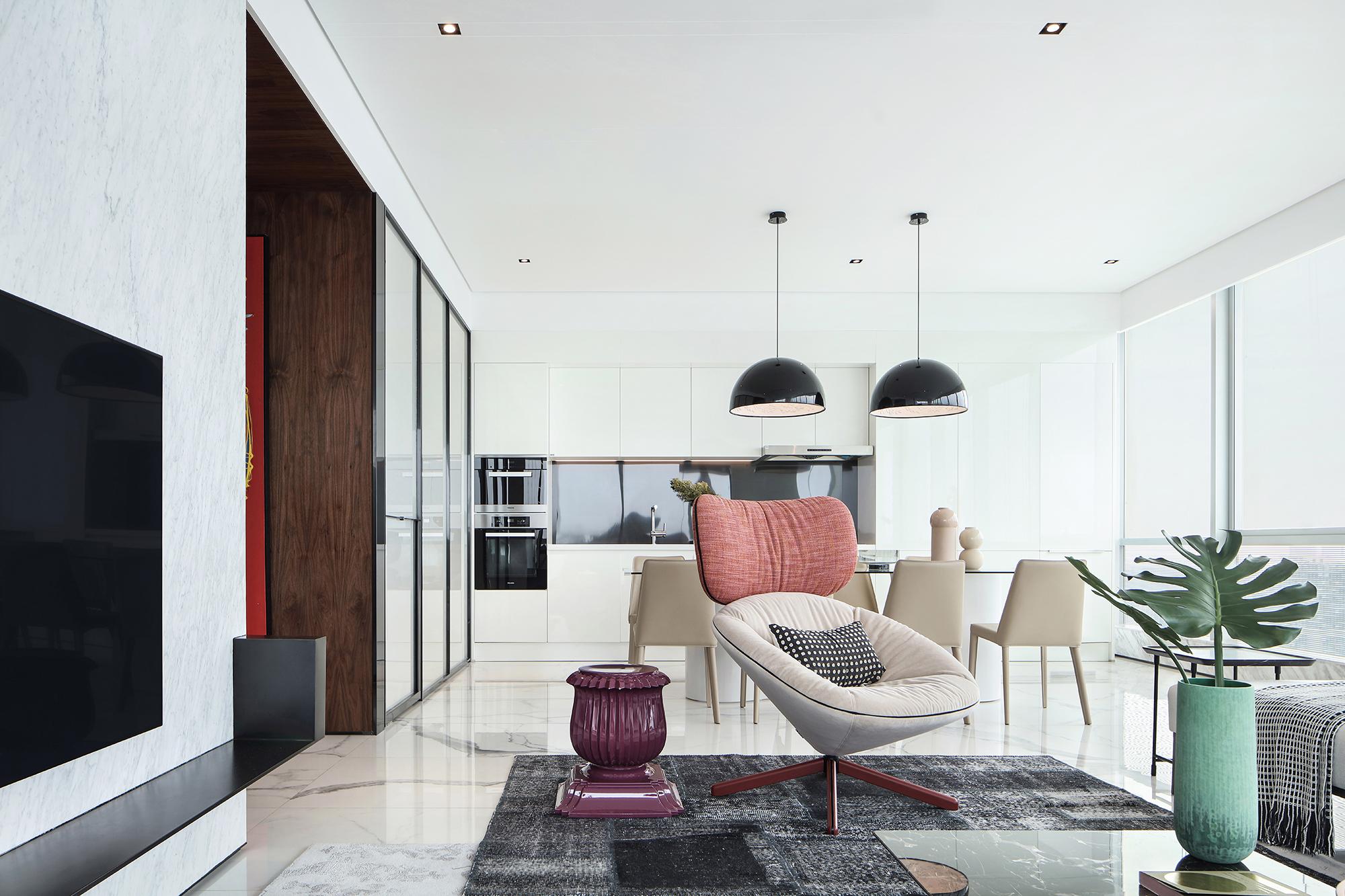 精致474平现代别墅客厅装饰图客厅