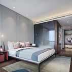 现代风格高雅卧室