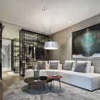 现代风格房间休闲区设计图