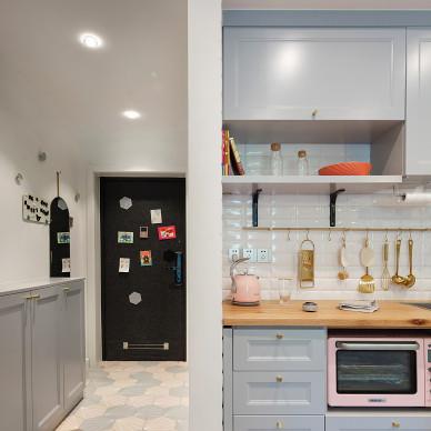 1890设计| 小公寓翻新,小福的Neverland_3409026