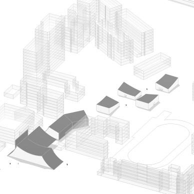 与地景融为一体的弧线型售楼处_3410570