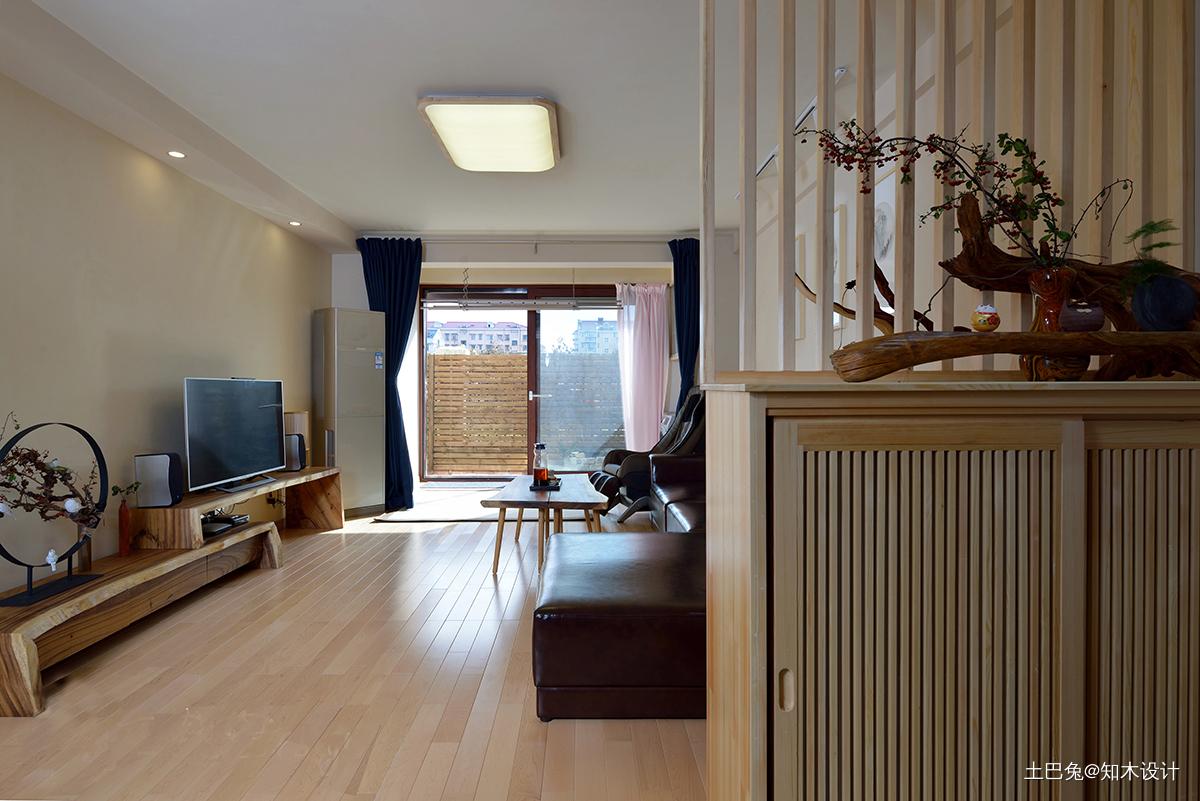 质朴93平日式二居客厅装修图客厅日式客厅设计图片赏析
