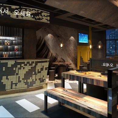 韩国餐厅_3414062