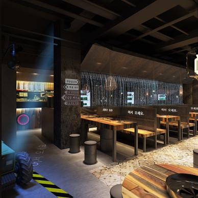 韩国餐厅_3414063