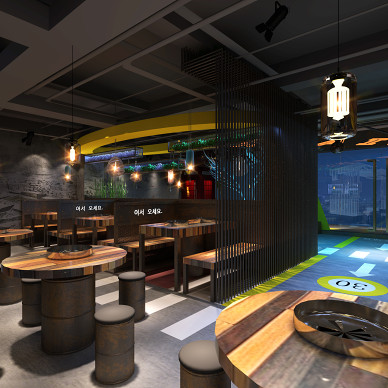 韩国餐厅_3414065