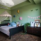 处女座的法式风格复式儿童房设计