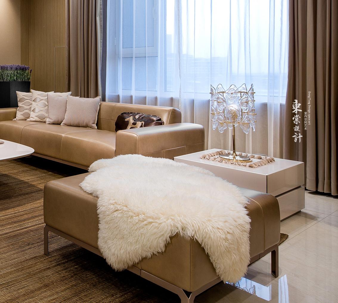 精美74平混搭复式客厅设计效果图客厅