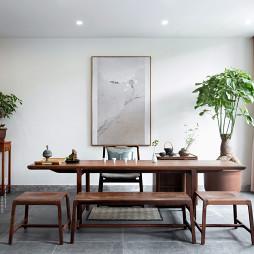 窗明几净的中式风格复式地下室设计