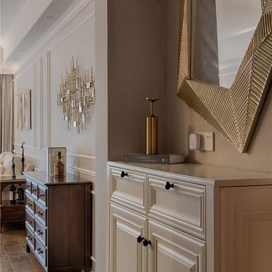 单身汪的现代美式三居室玄关设计