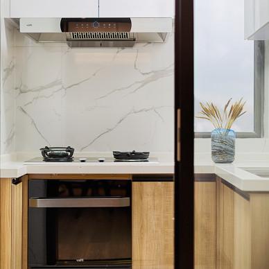 舒適的中式四居室廚房設計