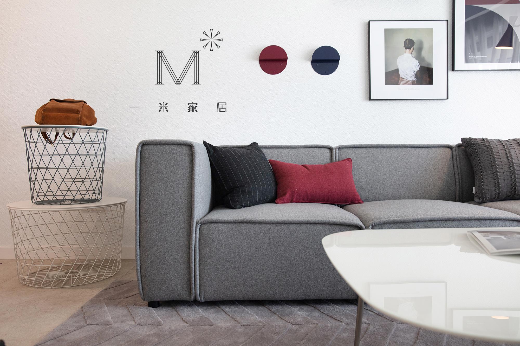 轻奢120平北欧二居装饰图片客厅北欧极简客厅设计图片赏析