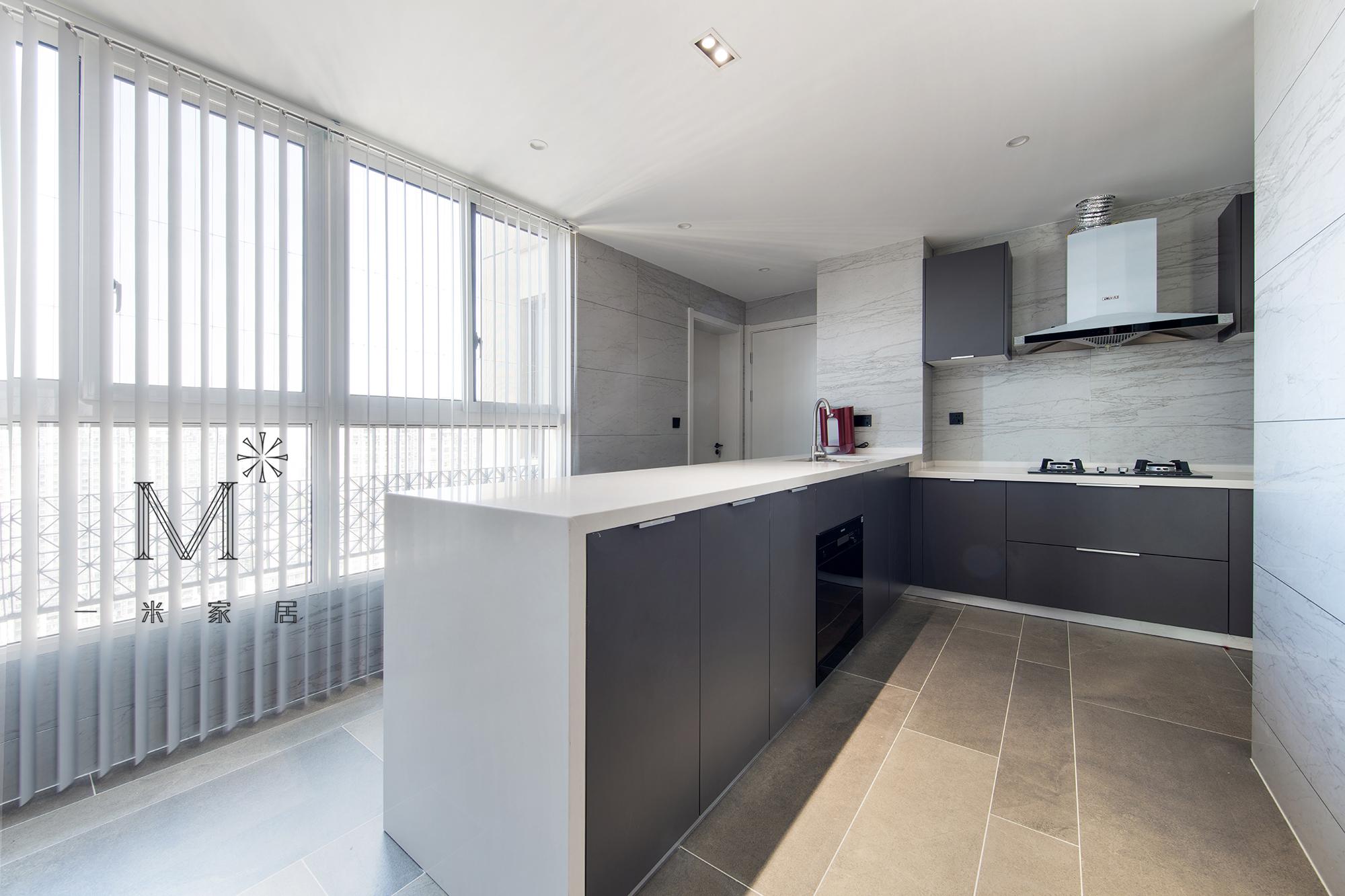 好看的现代北欧风格厨房设计客厅2图现代简约客厅设计图片赏析